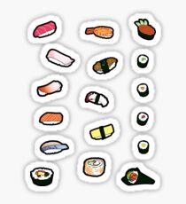 Sushi Sticker Set Sticker