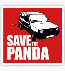 Save The Panda Sticker Sticker