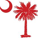 Red Palmetto Moon by PalmettoTrading