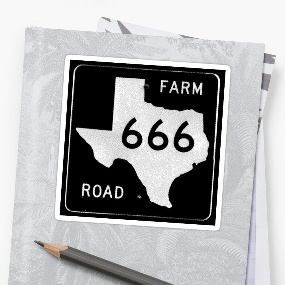 Texas Farm Road 666 by TexasFM666