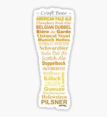 Craft Beer - Sticker Sticker