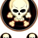 Skulls :) by Bart Hellemans