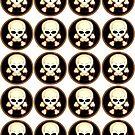 More skulls (Little ones) by Bart Hellemans