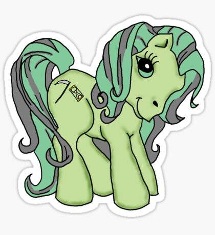 Death Pony Sticker