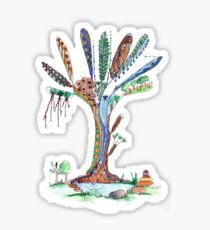 Tree of Life 5 Sticker