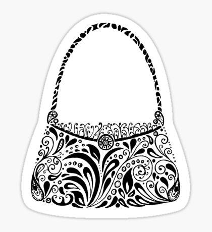 Handbag Doodle Sticker