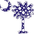 Purple Polka Dots Palmetto Moon by PalmettoTrading