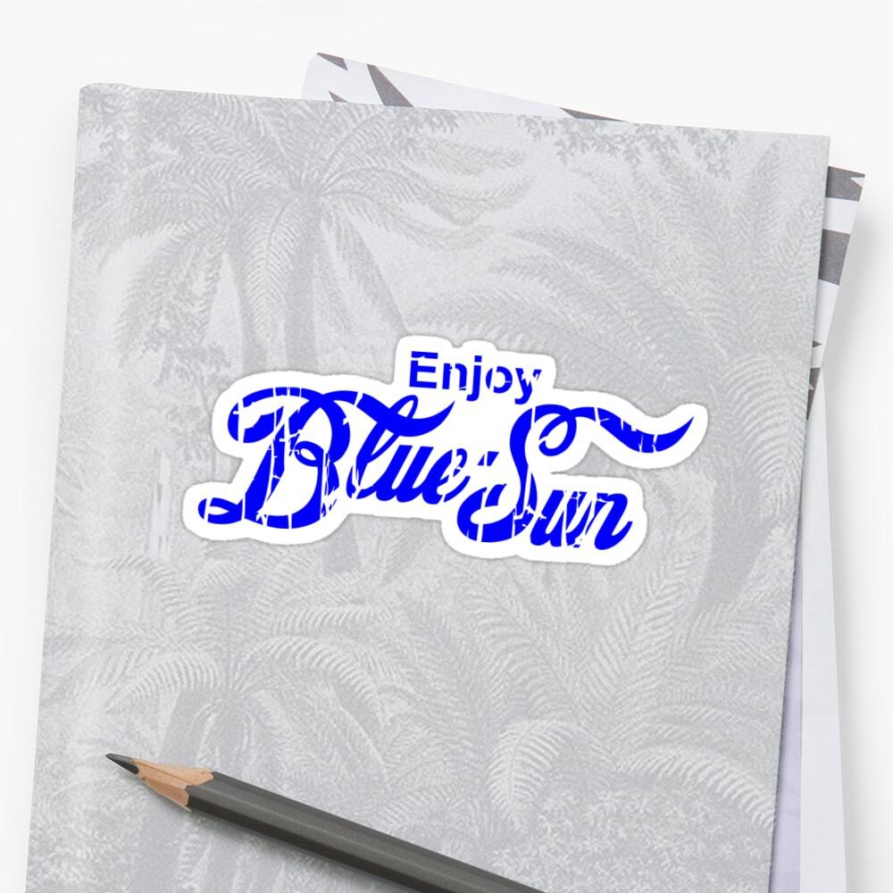 Enjoy Blue Sun by Rich Miller