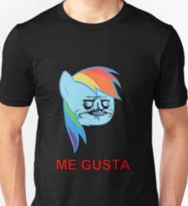 Rainbow Dash ME GUSTA Unisex T-Shirt