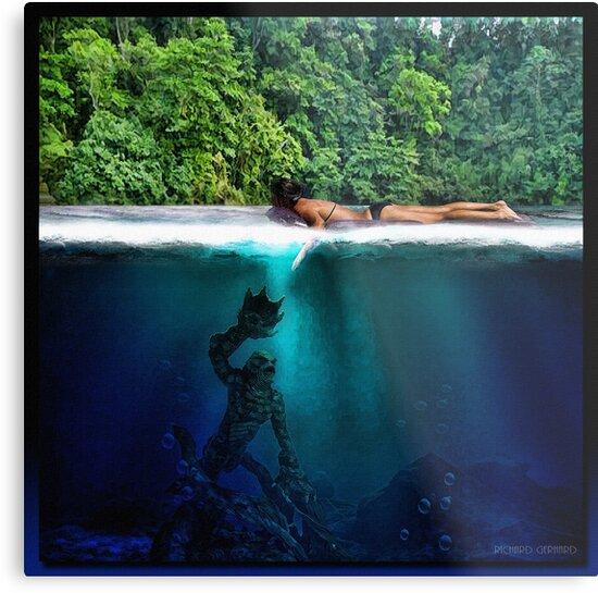 The Black Lagoon by Richard  Gerhard