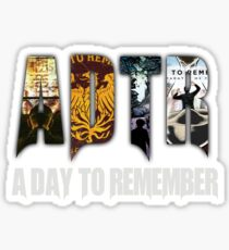A Day To Remember Sticker Sticker