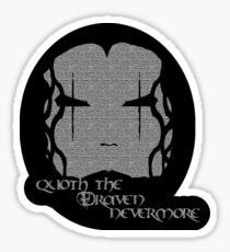 Quoth the Draven Sticker