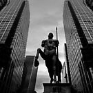 The myth in the financial centre  by Gwoeii