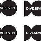 Dive Seven Logo (times four) by Dive Seven .