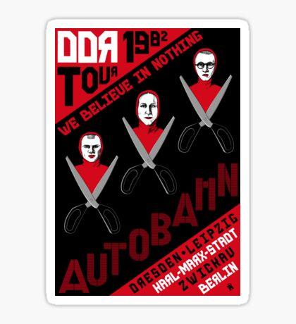Autobahn Tour Sticker
