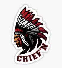 Chief'n - in sticker form! Sticker