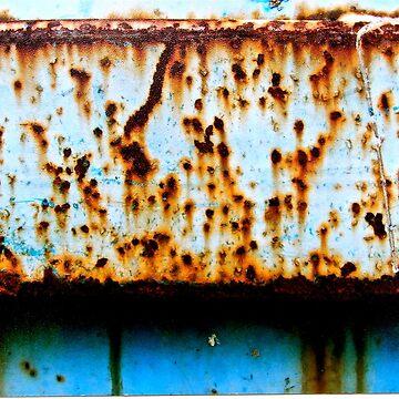 Blue Rust Shadow Line by Vikki-RaeBurns