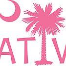 Pink South Carolina Palmetto Moon Native by PalmettoTrading