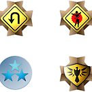 Halo Medals Sticker Pack by Erik Johnson