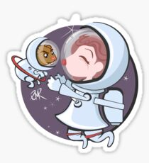 Space Lunches Sticker