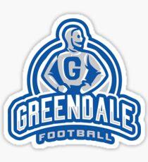 GreenDale Football - STICKER Sticker