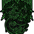 Death Rock - STICKER by WinterArtwork