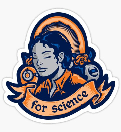 Our Lady Of Science - STICKER Sticker