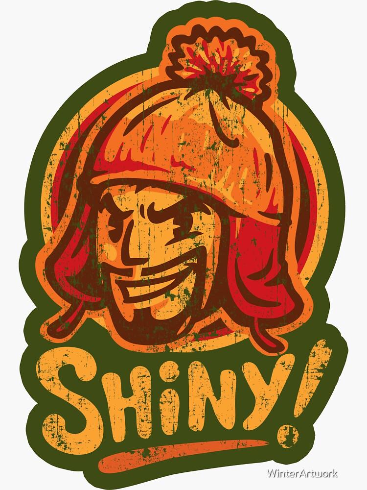 Shiny! - STICKER by WinterArtwork