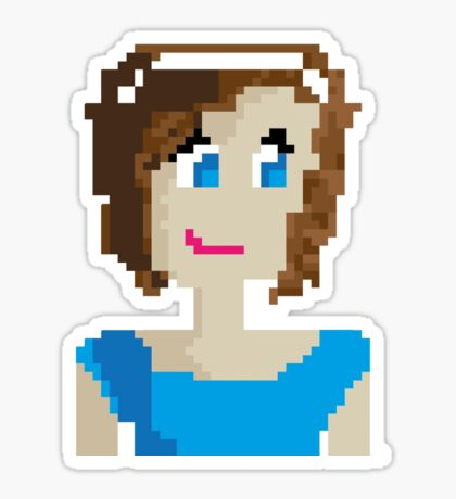Pixel Person Sticker