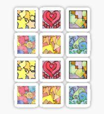 Mini Assorted Geometric Stickers Sticker