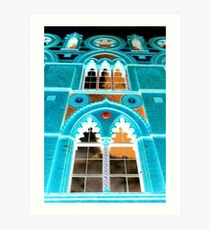 Templeton Carpet Factory Inversion Art Print