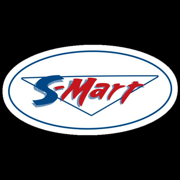 Shop smart, shop S-Mart you got that? - sticker by D4N13L