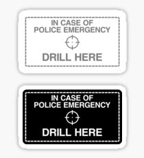 Laptop Security (Just Drill It) Sticker