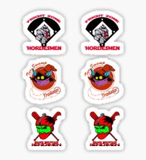 Eternian baseball sticker sheets Sticker