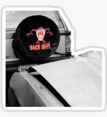 Backoff Sticker