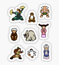 ATLA Mini Stickers: Other characters Sticker