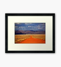 The Road is Long Framed Print