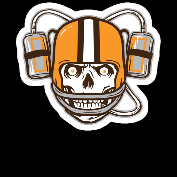 Cleveland Tailgater - Sticker by WeBleedOhio