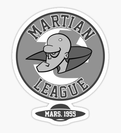 Martian League  Sticker