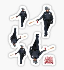 UC Davis Peeper Spray Cop Sticker
