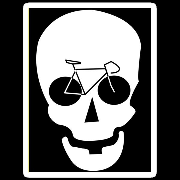 Bike Skull Sticker by MangaKid
