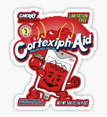 Cortexiph-Aid Sticker
