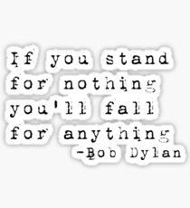 Bob Dylan  Sticker