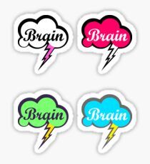 Colourful Brain Storm's Sticker