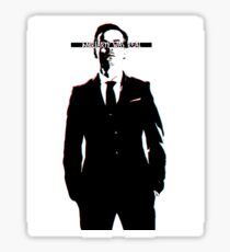 SUPPORT MORIARTY Sticker