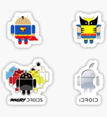 Droid Sticker Pack Sticker