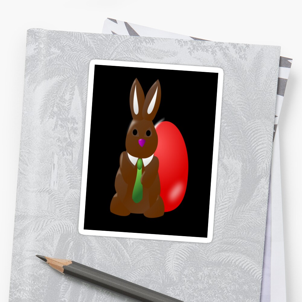 Chocolate Easter Bunny Egg by A1RB