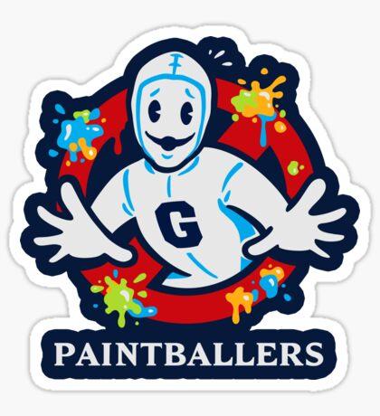 Paintballers - STICKER Sticker