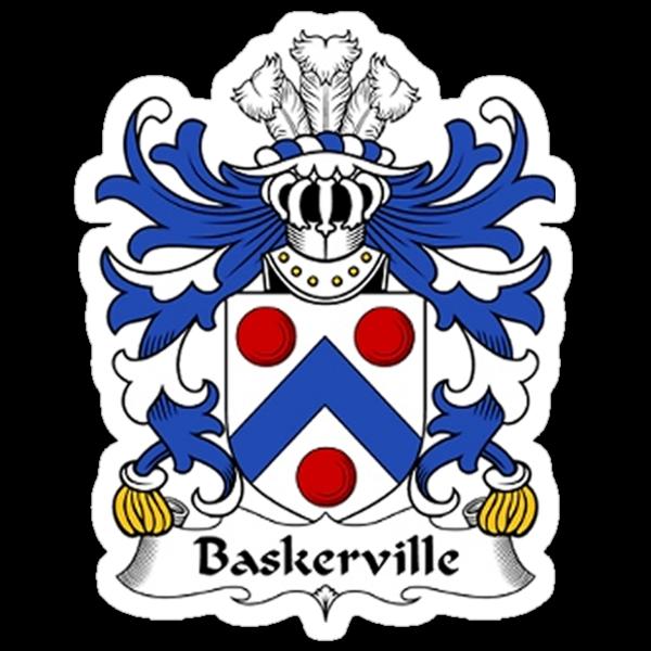 Baskerville Coat of Arms by Matthew Baskerville