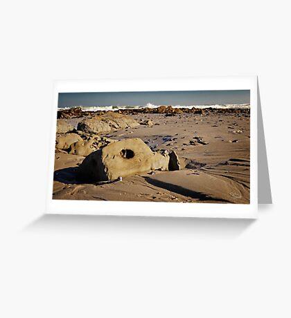 Mussel Graveyard Greeting Card